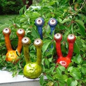 Garden Spy Stem Eye Resin Variation Snail